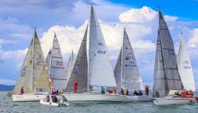 Cruisers Three east coast Championships comprises DBSC and Greystones Regatta races this weekend