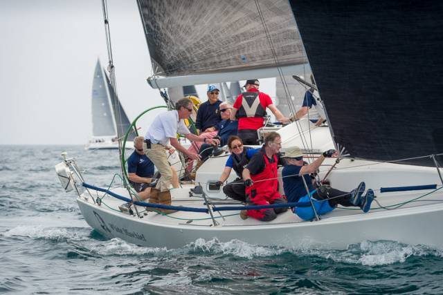 Regatta Chairman Tim Goodbody's White Mischief will be one of 14 J109 designs competing in a 29–boat cruisers one class at this Thursday's Volvo Dun Laoghaire Regatta