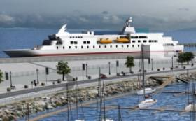 The €126 million port extension is for a four-phase development that involves reclaiming 27 hectares of bay area,