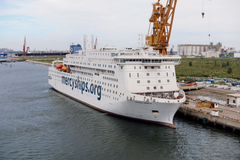 World's Largest Charity Hospital 'Mercy' Ship Sails to Africa in 2021 (Volunteers Required & Ashore)