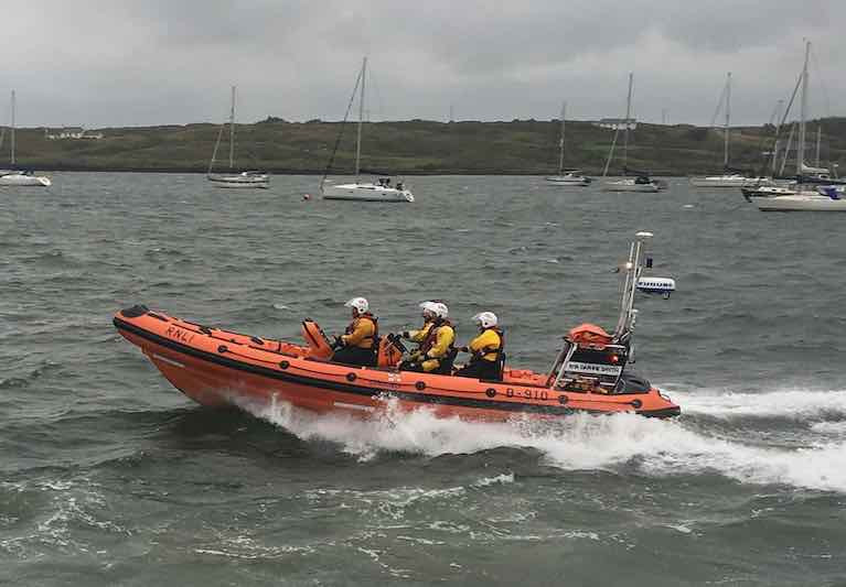 Baltimore RNLI Called Out Following Activation of a Positioning Beacon off the Coast of West Cork