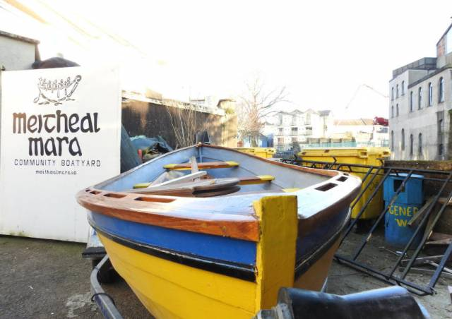 Meitheal Mara Calls On Volunteers New To Ireland For Latest Boat Building Project