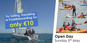 Try Sailing And More At INSS Open Day This Sunday