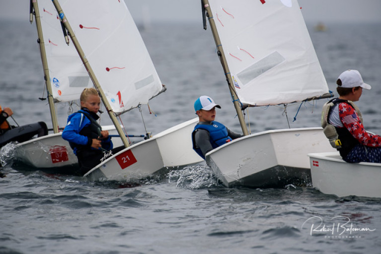 Racing is underway at the 2020 Optimist Nationals at Royal Cork Yacht Club. See slideshow below