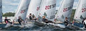The Laser Radial Youth European Championship conclude inTallinn tomorrow. Scroll down for video.