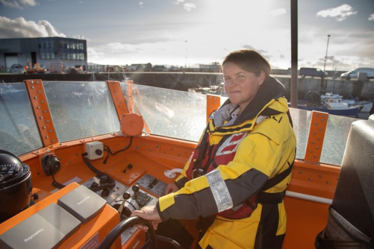 Denise Lynch, Ireland's first RNLI lifeboat coxswain