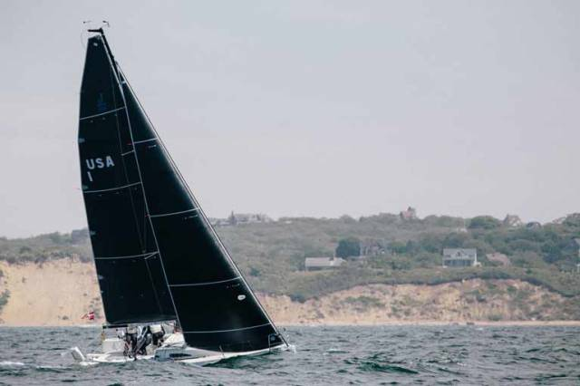 2018 sees North Sails completes a ten–year move from 3DL string laminates to 3Di 'moulded composite sail structures'
