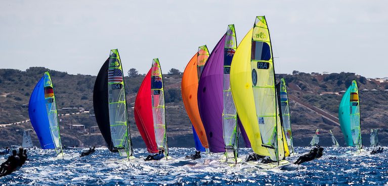 49ers Must Look Elsewhere for Tokyo Qualification Regatta as Trofeo SAR Princesa Sofía is Postponed Until October