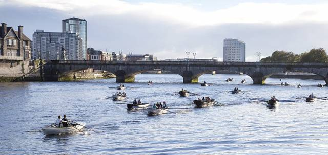 The inaugural Kings Island River Rowing Race on the Shannon in Limerick gets into its stride with a remarkable collection of traditional boats from many parts of Ireland, but the fleet also seems to have included some new previously unknown types