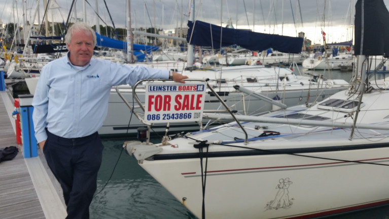 Ronan Beirne of Leinster Yacht Brokers