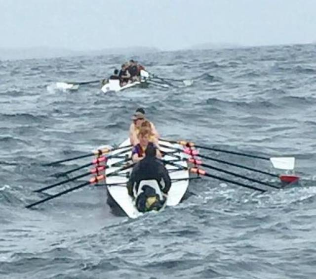 Boomer Best at Offshore Rowing Championships