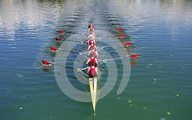 Masters Eight Fastest at St Michael's Head