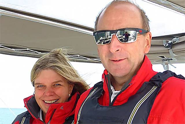 Husband and Wife Team Cathy MacAleavey and Con Murphy will represent Ireland on World Sailing Committees from 2017–2020