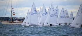 Flying Fifteens from Dublin, Waterford, Strangford Lough,Whitehead, Larne and Cushendall will contest the Irish Title in Red Bay this weekend