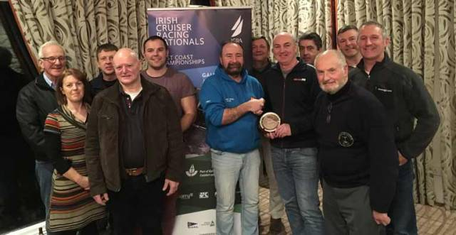 After twelve years in his role as Honorary Secretary of WIORA, Thomas Whelan from the Royal Western Yacht Club of Ireland, stepped down at the AGM
