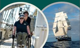 Spinal Injuries Ireland is putting a call out for people to join their SII Tall Ship crew this May