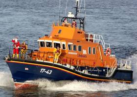 Santa by Sea – The RNLI assist Santa Claus this Christmas at Rosslare