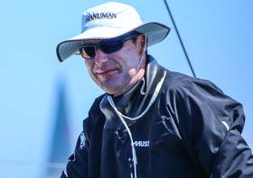 Niall Dowling of the Royal Irish Yacht Club was the line honours and overall winner of the Round Ireland Race