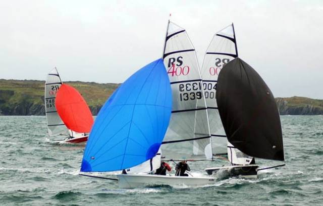 RS400s racing off Schull in West Cork