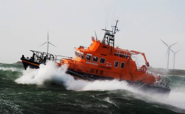 Rosslare RNLI Lifeboat Assists Dun Laoghaire Dingle Race Yacht in Difficulty off Tuskar Rock