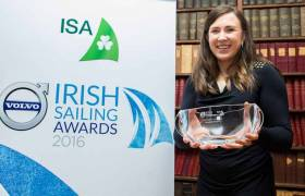 The 2016 Sailor of the Year was Rio medalist Annalise Murphy