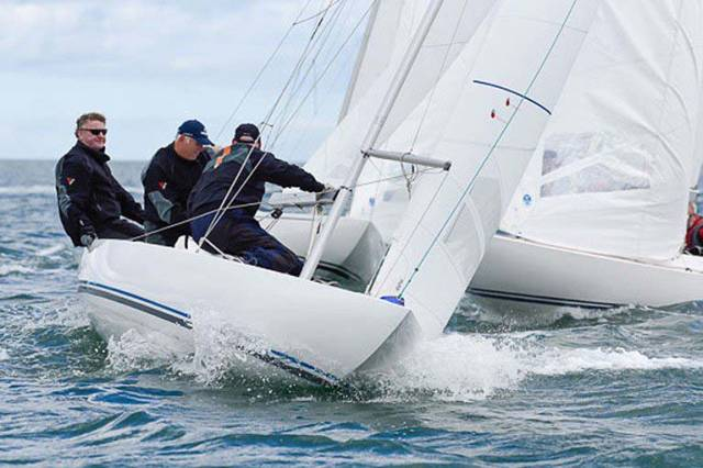 Jaguar has taken the lead at the Royal St. George Dragon East Coasts Championships