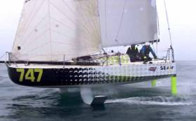 Sea–Air: The world's first foiling Mini Class