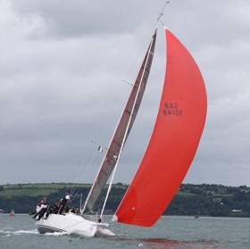 The Irish Defence Forces Team, racing the Irish national champion J19 yacht Joker 2 have won the Beaufort Cup Fastnet race