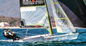 Tokyo trialists Ryan Seaton and Seafra Guilfoyle are entered for March's Trofeo Princesa Sofía regatta in the 49er class