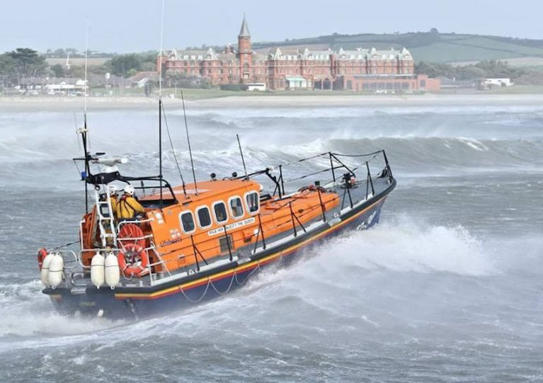 Newcastle RNLI's all-weather lifeboat