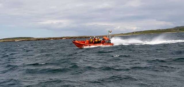 Clifden RNLI Atlantic 85 lifeboat