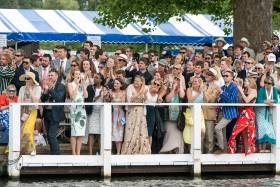 Commercial Rowers Ease to First-Round Win at Henley