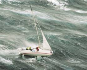 Extreme conditions during the Sydney-Hobart Race, one of the topics scheduled for the Weather & Sailing Conference in Dun Laoghaire on Friday November 23rd