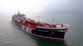 Stena Impero sailed out of Iranian waters on Friday 27 September