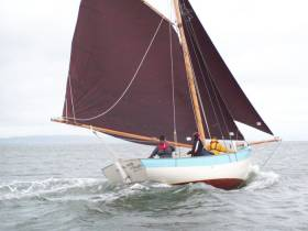 Seol Sionna, the local heritage group responsible for newbuild turf boat, the five-tonne gaffer Sally O'Keeffe, are set to take part in the inaugural Shannon Estuary Cruise