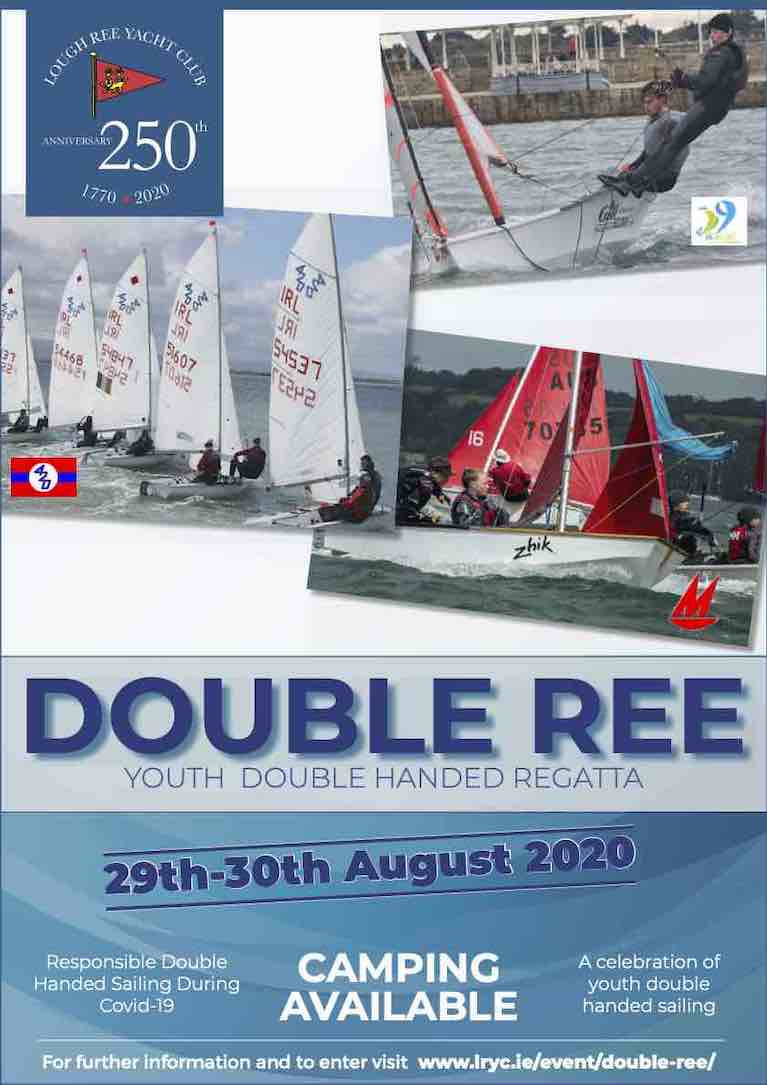 Double Ree is a fantastic opportunity to showcase double-handed sailing and for sailors to see other classes in action, as all the classes will be raced in the same location