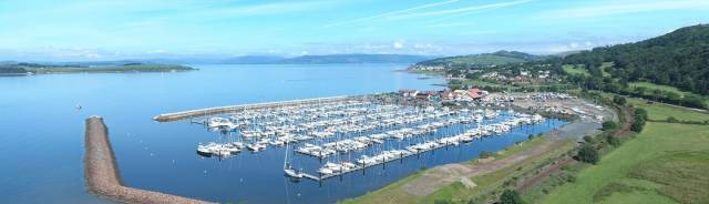 The UK Coastal Marina of the Year for 2017 (over 250 berths) is Largs Yacht Haven in Scotland