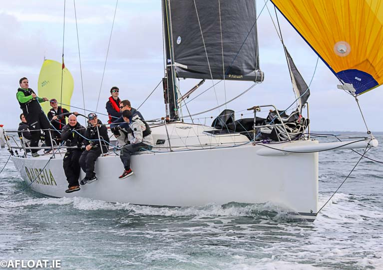 Chris and Patanne Smith's J122 Aurelia from the Royal St George Yacht Club