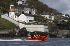 Youghal RNLI's inshore lifeboat Gordon and Phil