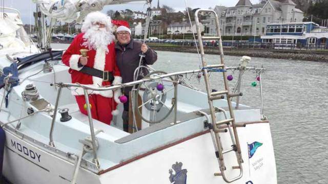 Santa Concludes Royal Cork Yacht Club's Winter League