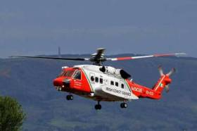 Coast Guard Helicopter R116