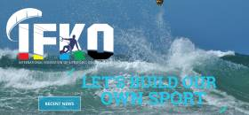 The newly formed International Federation of Kitesports Organisations (IFKO) has as its tagline: 'Lets build our own sport'