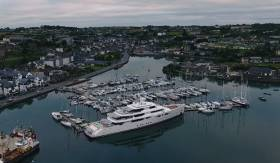 Kinsale Marina from the air