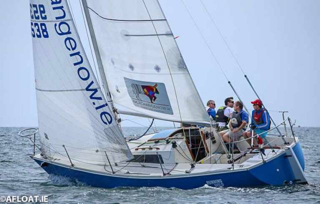 Brendan Foley's Running Wild is in the running for the Enriquetta Cup for significant keelboat performance