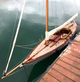 The newly-restored Marguerite of 1896 vintage is the latest addition to Dun Laoghaire's flotilla of classic yachts