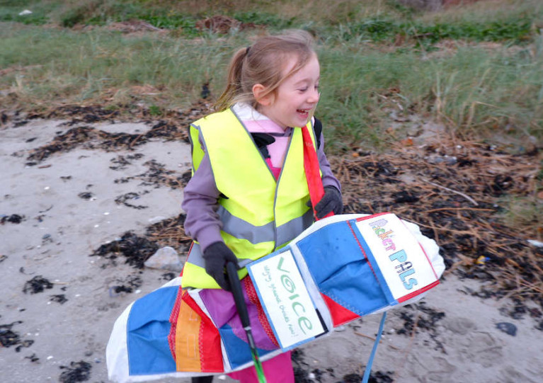 Appeal for Donations of Old Dinghy Sails to Upcycle for Schools Litter Picking Project