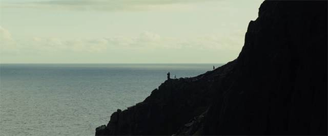 Skellig Michael as seen in the trailer for Star Wars: The Last Jedi