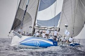 Back on track after 40 knot knock-down in the RORC Transatlantic Race - Ludde Ingvall's Australia Maxi CQS