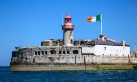 Dun Laoghaire's proud tricolour was stolen last night but quickly recovered