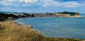 Scarborough in North Yorkshire is a popular port of call for cruisers around the UK and Ireland